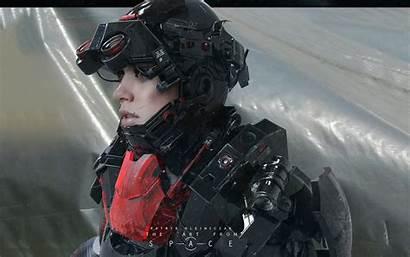 Soldier Future Fantasy Wallpapers Sci Fi Concept
