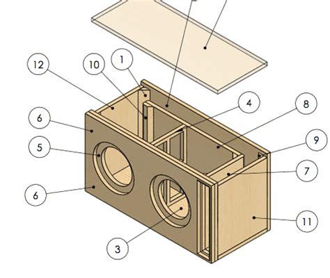 dual   ported subwoofer box design ct sounds
