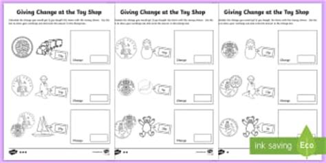 money coins worksheets writing frames primary page 1