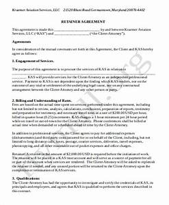 sample consulting retainer agreements 9 examples in With standard consulting agreement template