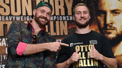 Tyson Fury v Otto Wallin: British heavyweight vows not to ...
