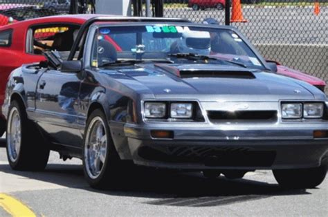 Raceprepped 1986 Mustang Gt Convertible