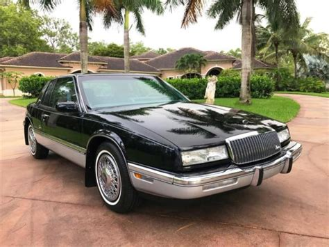 Buick Riviera 1989 by 1989 Buick Riviera 18 638 Black 3l Na V6 Overhead