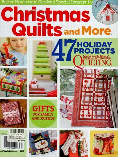 better homes and gardens quilts and more 2015