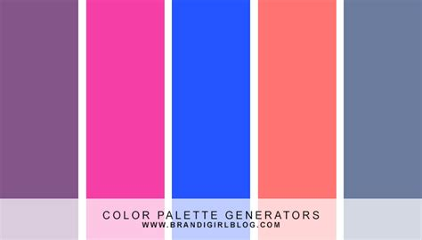 color pallete generator color palette generators brandi color