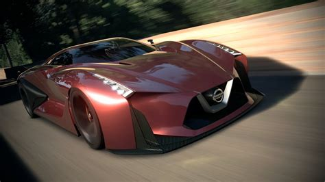 nissan concept  vision gran turismo tms  youtube