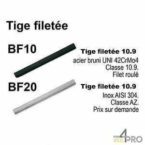 Tige Filetée M10 : tige filet e 10 9 en acier bruni m10 4mepro ~ Edinachiropracticcenter.com Idées de Décoration