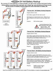 24 Volt Battery Hook Up Diagram