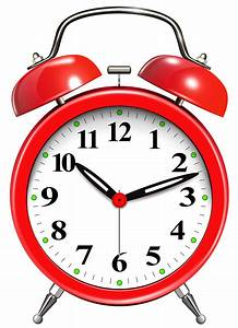 Image of clock clipart 1 alarm clock red clip art the ...