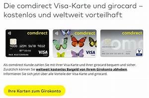 Comdirect Visa Abrechnung : comdirect kreditkarte online beantragen ablauf dauer ~ Themetempest.com Abrechnung
