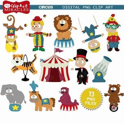 Circus Clip Carnival Clipart Theme Themed Printable
