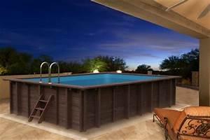 Pool Mit Aufbau : holzpool blockbohlen bausatz 6x4m schwimmbecken swimmingpool gartenpool vom garten fachh ndler ~ Sanjose-hotels-ca.com Haus und Dekorationen