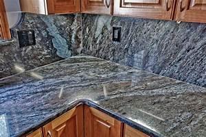 Dynamic Blue Granite Kitchen - Traditional - Kitchen - dc