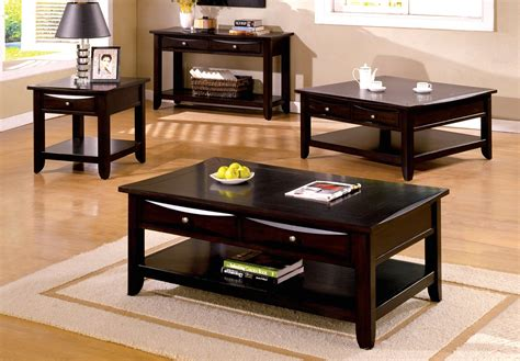 accent table ls contemporary baldwin contemporary espresso accent tables with drawers