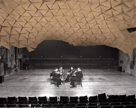 rvtr resonant chamber origami architectural acoustic panels