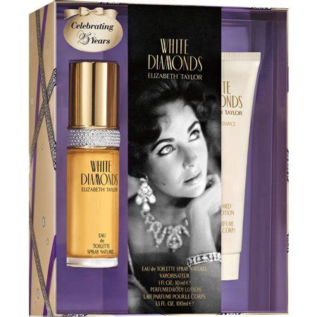 elizabeth taylor white diamonds  piece perfume gift set  women walmartcom