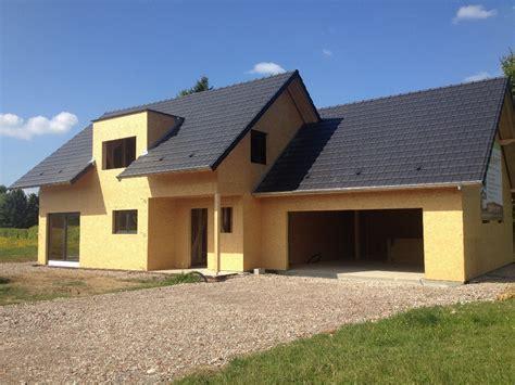 maison deux pans en ossature bois abt construction bois