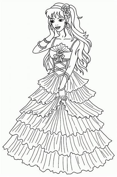 Princess Coloring Pages Printable Princesses Sofia Bestcoloringpagesforkids