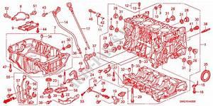 Cylinder Block  Oil Pan  Diesel  For Honda Cars Civic 2 2