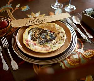 Add Tradition Thanksgiving Holiday Table Giveaway Pottery Barn Decoration Thanksgiving Dinnerware