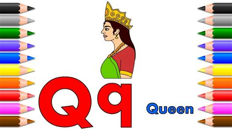 queen drawing  coloring pages  kids