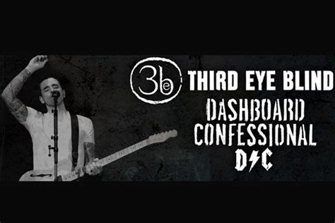 Third Eye Blind And Dashboard Confessional Announce Co