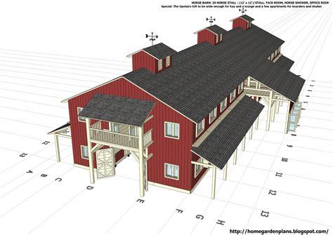 horse stable plans    build diy