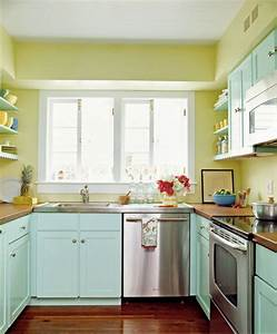 azul turquesa y verde colores para un salon y una cocina With kitchen colors with white cabinets with print stickers at home