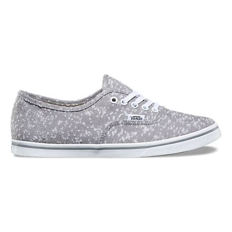 marled canvas authentic lo pro shop at vans
