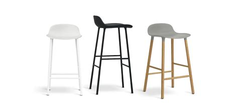 Norman Bar Stools by Normann Copenhagen Form Barstol Svart 65 Cm S 246 K P 229