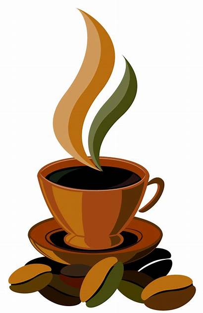 Coffee Clipart Cup Vector Clip Cliparts Related