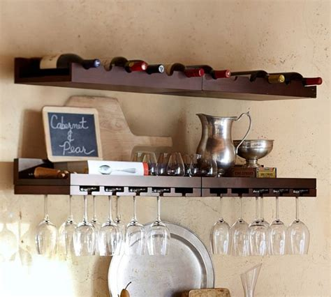 pottery barn holman shelf holman entertaining shelves contemporary display and