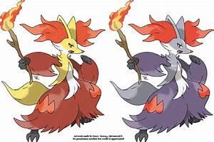 Delphox Mega Evolution Pokemon Images | Pokemon Images