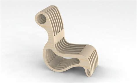 File Cnc Router Laser Design Chair Artcam Vectors Dxf