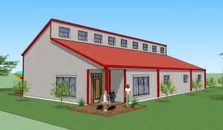 Pole Barn With Apartment Floor Plans