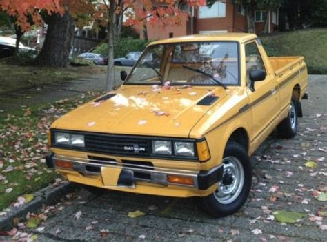 Datsun 720 For Sale by 1981 Datsun 720 For Sale Front Japanese Classics