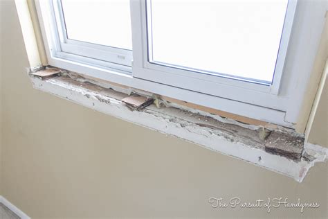 Diy Window Sill And Trim. My Recent Project