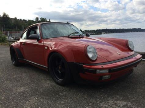 porsche 930 modified find used 1982 porsche 930 turbo tastfully modified in
