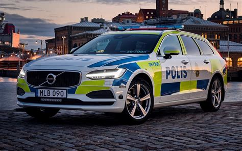 volvo  volvo police cars sweden hd wallpapers