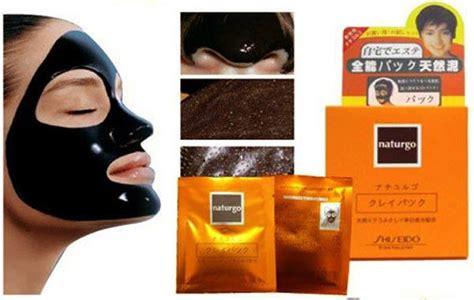 Masker Lumpur Naturgo Asli Harga naturgo shiseido masker lumpur asli