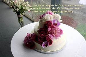 Happy Birthday Cake Wishes With Flowers | Best Wishes