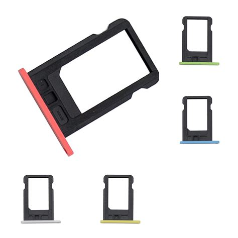iphone 5c sim card slot 3x sim card slot tray holder fix repair replacement for