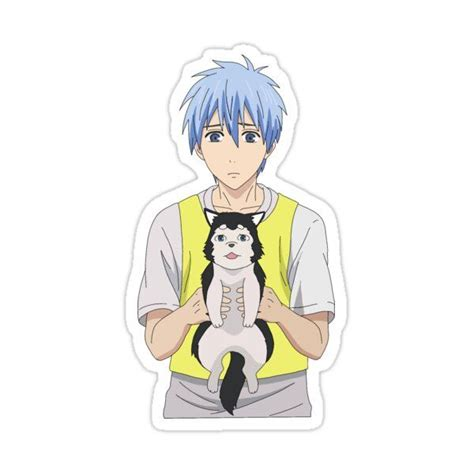 kuroko and nigou sticker by itskisaa in 2021 kuroko