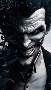 Joker in Batman Arkham Origins - The iPhone Wallpapers