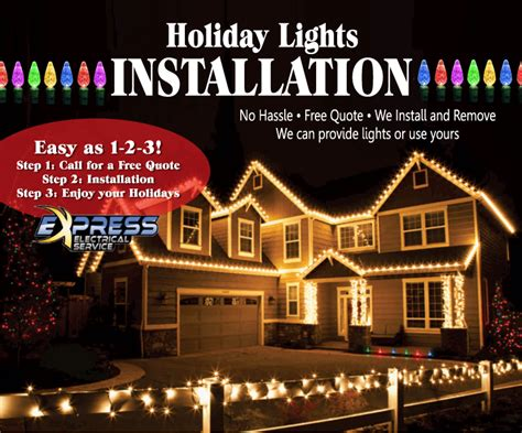 install christmas light no longer available
