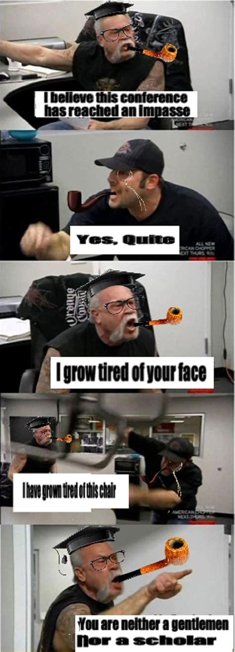 american chopper fight meme  pics
