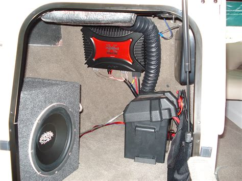 Boat Stereo Static by Car Audio Speakers Boat Radio Installation
