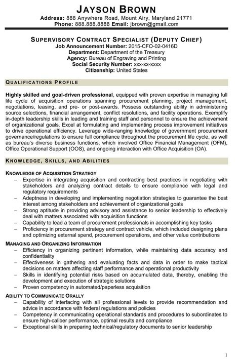 Federal Resume Template 2016 by 20 Federal Resume Exles 2016 Weekly Template
