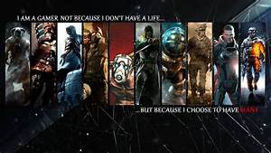 I M A Gamer Wallpaper