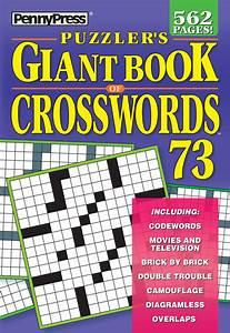 Puzzler U0026 39 S Giant Book Of Crosswords